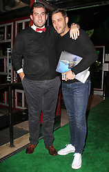 © Licensed to London News Pictures. 19/12/2013, UK. James Argent & Elliott Wright, Wicked - Press Night, Apollo Victoria Theatre, London UK, 19 December 2013. Photo credit : Brett D. Cove/Piqtured/LNP