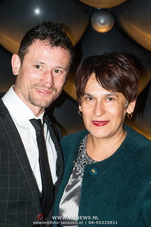 NLD/Amsterdam//20140329 - Emma Fund Raising 2014, Radmilio Soda en zijn moeder