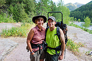 Visit from Vicki & Peter Borgesen (USFS Facilities Engineer)