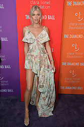 September 12, 2019, New York, NY, USA: September 12, 2019  New York City..Devon Windsor attending the 5th annual Diamond Ball benefit gala at Cipriani Wall Street on September 12, 2019 in New York City. (Credit Image: © Kristin Callahan/Ace Pictures via ZUMA Press)