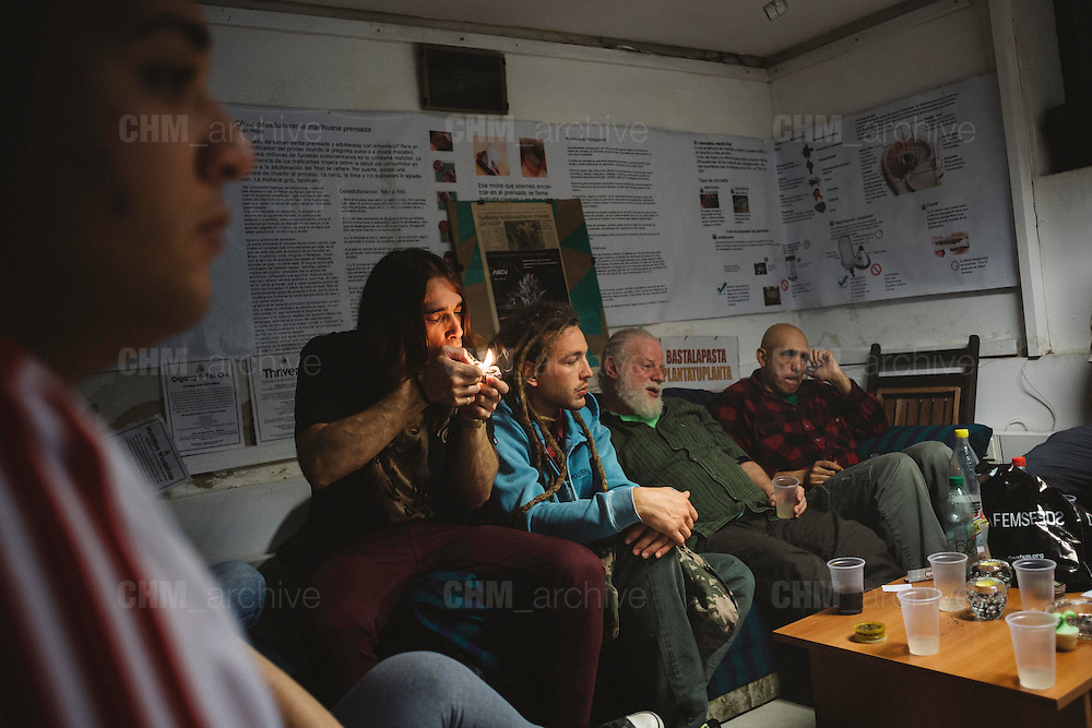 'Asociación de Estudios del Cannabis de Uruguay. Montevideo, 14 dicembre 2015.  Christian Mantuano / OneShot