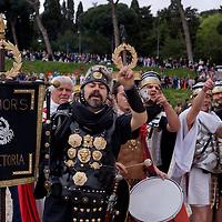 Natale di Roma, corteo storico -2015