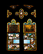 """Window 10 on plan. About 36"""" wide (set too high on wall to measure)<br /> <br /> Possibly by Frederic Crowninshield. <br /> <br /> St. Mary's by-the-Sea, Northeast Harbor, Maine."""