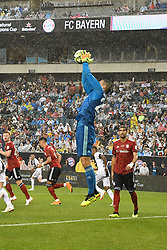 July 25, 2018 - Philadelphia, PA, U.S. - PHILADELPHIA, PA - JULY 25: Bayern Munich goalkeeper Sven Ulreich (26) makes a save during a International Champions Cup match between Juventus and FC Bayern Munich on July 25,2018, at Lincoln Financial Field in Philadelphia,PA. Juventus won 2-0. (Photo by Andy Lewis/Icon Sportswire) (Credit Image: © Andy Lewis/Icon SMI via ZUMA Press)