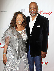 Joe Morton 'Turn Me Loose' opening at the Wallis at he Wallis Annenberg Center for the Performing Arts in Beverly Hills, California on 10/15/17. 15 Oct 2017 Pictured: Debbie Allen, James Picken Jr. Photo credit: River / MEGA TheMegaAgency.com +1 888 505 6342