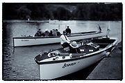 """Henley on Thames, United Kingdom. 9th July  2016, Henley Masters' Regatta. Henley Reach. England. on Saturday  09/07/2016   © Peter SPURRIER,<br /> Umpires Launch, """"Bosporos """" [Oxford University BC Boat]  Rowing, Henley Reach, Henley Masters' Regatta.<br /> <br /> General View,  Henley Reach, venue, for the 2016 Henley Masters Regatta."""