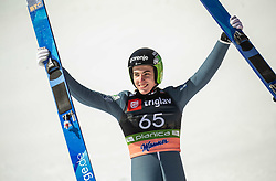Timi Zajc (SLO) reacts during the Qualification Round of the Ski Flying Hill Individual Competition at Day 1 of FIS Ski Jumping World Cup Final 2019, on March 21, 2019 in Planica, Slovenia. Photo by Vid Ponikvar / Sportida
