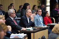 DEU, Deutschland, Germany, Berlin, 16.12.2016: Niedersachsens Umweltminister Stefan Wenzel (B90/Die Grünen) bei einer Sitzung im Bundesrat.