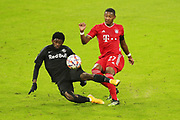 Sekou Koita of Salzburg and David Alaba of Bayern Munich during the UEFA Champions League, Group A football match between Bayern Munich and Red Bull Salzburg on November 25, 2020 at Allianz Arena in Munich, Germany - Photo Marcel Engelbrecht / firo Sportphoto / ProSportsImages / DPPI