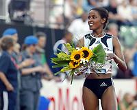Friidrett, 29. juli 2005, Golden League, Bislett Games,  Mary Yusuf Jamal, 3000 metres winner