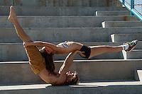 Nicholas Eve Acro Venice Beach California 2014