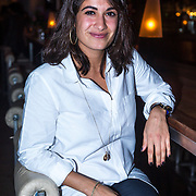 NLD/Amsterdam/20130918 - Reünie NCRV jeugdserie Spangas, Fatma Genc