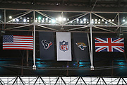 A general view during the NFL game between Houston Texans and Jacksonville Jaguars at Wembley Stadium in London, United Kingdom. 03 November 2019