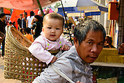 China, Xian, outdoor street market