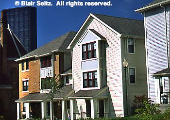 Pittsburgh, PA, New Townhouses, Urban Renewal