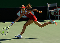 MELBOURNE, AUSTRALIA - JANUARY 19:  Daniela Hantuchova of Slovak Republic in action during day one of the Australian Open January 19, 2004 in Melbourne, Australia. (Photo by Lars Mueller/Sportsbeat) *** Local Caption *** Daniela Hantuchova