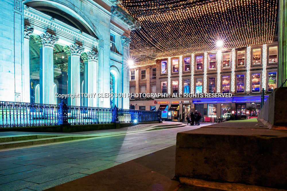 Royal Exchange Square in Glasgow city centre