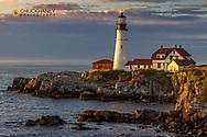 Portland Head Lighthouse in Portland, Maine, USA