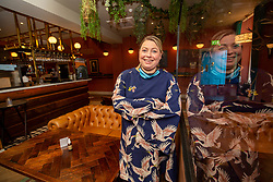 Charlene Chrighton at McLarens Pub at Morningside Road, Edinburgh.