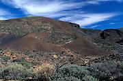 Landscape, Near Mount Teide, Tenerife, Canary Islands, Spain