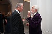 SANDY NAIRNE; SIR ROY STRONG; , Mark Weiss dinner, Nationaal Portrait Gallery. London. 15 October 2012.