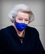 DEN HAAG, 13-10-2020, Paleis Noordeinde<br /> <br /> Prinses Beatrix verlaat Paleis Noordeinde