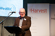 02/04/2019 Repro free:  <br />  Frank Greene Chairman Galway Technology Centre at Harvest in the Mick Lally Theatre , an opportunity to share ideas for innovation and growth and discuss how to cultivate the city as a destination for innovation, hosted by GTC  and Sponsored by AIB and The Sunday Business Post .<br /> <br /> A keynote address Start Up to Multinational - Positioning & Marketing Software for an International Audience from Joe Smyth, VP of R&D at Genesysat Genesys and a Panel Discussion on International Growth Through Innovation and Positioning<br /> Mary Rodgers- Innovation Community Managerat the Portershed (moderator)<br /> Kathryn Harnett- Senior Consultantat Milltown Partners LLP, Giovanni Tummarello, Founder and CPOat Siren,  Mark Quick, Founding Director 9th Impact and Founding Director, Nephin Whiskey, Nicola Barrett, Senior Marketing Managerat Connacht Rugby<br />  Photo: Andrew Downes, Xposure
