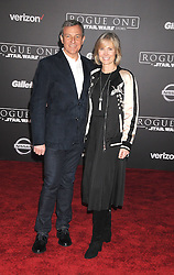 December 10, 2016 - Los Angeles, CA, United States of America - Robert Iger and Willow Bay arriving at the Star Wars ''Rogue One'' World Premiere at the Pantages Theater on December 10 2016 in Hollywood, CA  (Credit Image: © Famous/Ace Pictures via ZUMA Press)