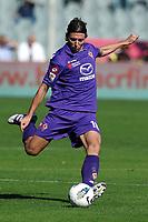 """Riccardo MONTOLIVO Fiorentina<br /> Firenze 02/10/2011 Stadio """"Artemio Franchi""""<br /> Football Calcio Serie A 2011/2012<br /> Fiorentina Vs Lazio<br /> Foto Insidefoto Andrea Staccioli"""