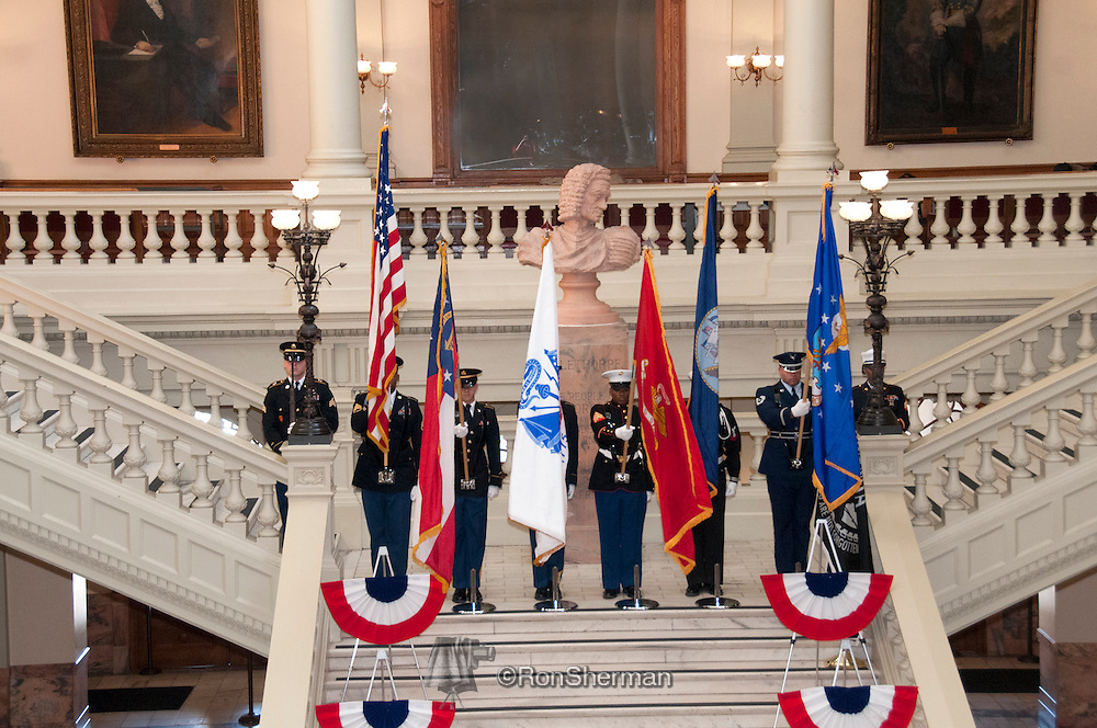 Vietnam Veterans Day in Georgia - A tribute to Georgia Vietnam Medal of Honor Recipients, Atlanta, Georgia -  Joint Honor Guard, Georgia Department of Defense