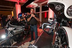 Indian new bike reveal party at the Hilton Hotel during Daytona Bike Week. Daytona Beach, FL, USA. Friday March 10, 2017. Photography ©2017 Michael Lichter.