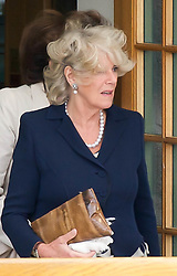 22.06.2011, Wimbledon, London, GBR, Wimbledon Tennis Championships, im Bild Hair today... Camilla Parker Bowles, also known as Duchess of Cornwall, visits Wimbledon on a royal freebie on day three of the Wimbledon Lawn Tennis Championships at the All England Lawn Tennis and Croquet Club, EXPA Pictures © 2011, PhotoCredit: EXPA/ Propaganda/ *** ATTENTION *** UK OUT!