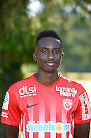 Modou Diagne of Nancy poses for a portrait during the Nancy squad photo call for the 2016-2017 Ligue 1 season on August 25, 2016 in Nancy, France<br /> Photo : Fred Marvaux / Icon Sport