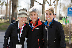 Abby and Joan Samuelson and Sheri Piers