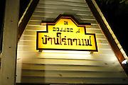 Fast food diner, Thailand
