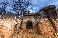 Ancient thracian megalith tomb