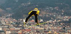 02.01.2016, Bergisel Schanze, Innsbruck, AUT, FIS Weltcup Ski Sprung, Vierschanzentournee, Training, im Bild Noriaki Kasai (JPN) // Noriaki Kasai of Japan during his Practice Jump for the Four Hills Tournament of FIS Ski Jumping World Cup at the Bergisel Schanze, Innsbruck, Austria on 2016/01/02. EXPA Pictures © 2016, PhotoCredit: EXPA/ JFK