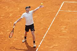 May 9, 2018 - Madrid, Spain - British Kyle Edmund during Mutua Madrid Open 2018 at Caja Magica in Madrid, Spain. May 09, 2018. (Credit Image: © Coolmedia/NurPhoto via ZUMA Press)