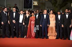 May 16, 2019 - Cannes, France - 72eme Festival International du Film de cannes. Montée des marches du film ''Bacurau''. 72th International Cannes Film festival. red Carpet for ''Bacurau'' movie. Udo Kier and Barbara Colen....239235 2019-05-15  Cannes France. (Credit Image: © L.Urman/Starface via ZUMA Press)
