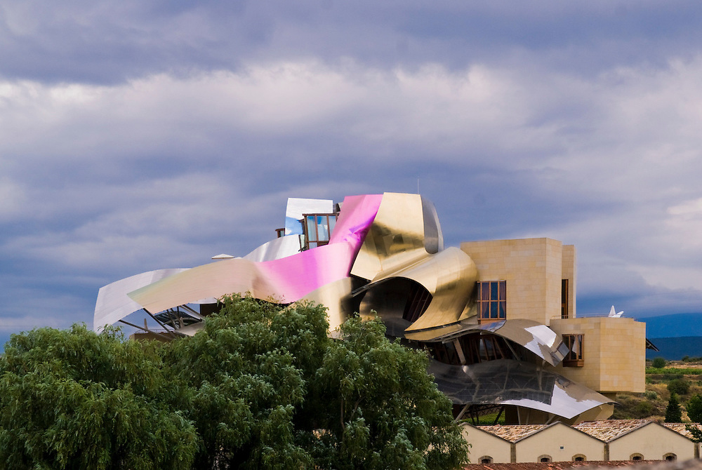 Hotel Marques de Riscal. Elciego. Frank O. Gehry Architect