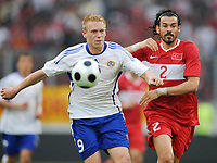 Fotball<br /> Tyrkia v Finland<br /> Foto: Witters/Digitalsport<br /> NORWAY ONLY<br /> <br /> 29.05.2008<br /> <br /> v.l. Mikael Forssell, Servet Cetin Tuerkei<br /> Testspiel Tuerkei - Finnland 2:0