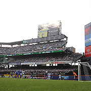 A general view of action during the Israel V Honduras  International Friendly football match at Citi Field, Queens, New York, USA. 2nd June 2013. Photo Tim Clayton