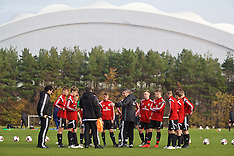 161031 Victory Shield - Wales Training