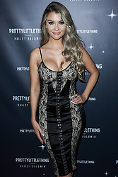 WEST HOLLYWOOD, LOS ANGELES, CA, USA - NOVEMBER 05: PrettyLittleThing X Hailey Baldwin Launch Event held at Catch LA Restaurant on November 5, 2018 in West Hollywood, Los Angeles, California, United States. 05 Nov 2018 Pictured: Emily Sears. Photo credit: Xavier Collin/Image Press Agency/MEGA TheMegaAgency.com +1 888 505 6342