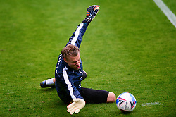 Anssi Jaakkola of Bristol Rovers warms up - Mandatory by-line: Dougie Allward/JMP - 03/10/2020 - FOOTBALL - Memorial Stadium - Bristol, England - Bristol Rovers v Northampton Town - Sky Bet League One