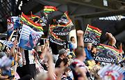 Fans.<br /> Panthers v Rabbitohs.<br /> 2021 NRL Finals.<br /> © image by NRL Photos