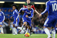 Diego Costa of Chelsea running with the ball. Barclays Premier league match, Chelsea v AFC Bournemouth at Stamford Bridge in London on Saturday 5th December 2015.<br /> pic by John Patrick Fletcher, Andrew Orchard sports photography.