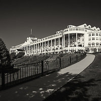 """Grand Hotel Mackinac Island"" Sepia"