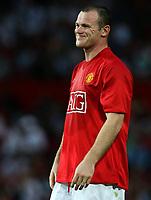 Photo: Paul Thomas.<br />Manchester United v Inter Milan. Pre Season Friendly. 01/08/2007.<br /><br />Frustrated Wayne Rooney of Utd.