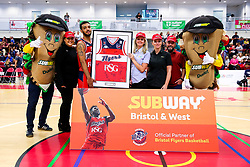Subway sponsor photo - Rogan/JMP - 13/10/2017 - BASKETBALL - SGS Wise Arena - Bristol, England. - Bristol Flyers v Cheshire Pheonix - BBL Cup.